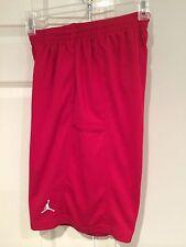 NWT Jordan BOYS' Bankroll Basketball Red Shorts Size XL Jumpman
