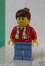 Lego Figur Sport mit Sticker - Fußballfan für Set 3569