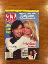 SOAP OPERA DIGEST March 1992 Guiding Light Nick and Mindy