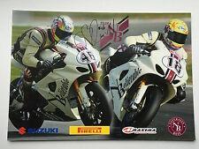 Ollie Bridewell Hand Signed NB Suzuki Poster BSB.