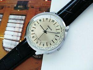 Raketa 24 hour Cities Soviet Vintage Mechanical Men's Wrist Watch
