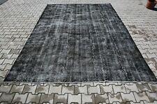 Turkish Rug Oushak Rug Vintage Rug Area Rug Wool Hand Made Rug 4883 8'4x11'5 FT