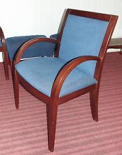Stuhl, Armlehnenstuhl, Polster, rötliches Holz