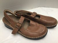 Kumf's New Zealand Ladies Tan Leather Sandals Size 8M Nice Look🔥🔥