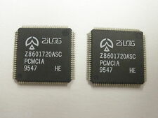 ( 2 PC. ) ZILOG Z8601720ASC IC, PCMCIA INTERFACE 100 PIN VQFP PACKAGE, NEW