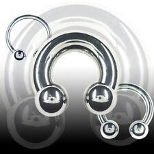 3mm Hufeisen Ring Ohr Nase Brust Intim Piercing Circular Barbell