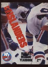1976/77 NHL New York Islanders Yearbook EXMT