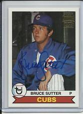 2003 TOPPS FAN FAVORITES HALL OF FAMER BRUCE SUTTER AUTO CHICAGO CUBS