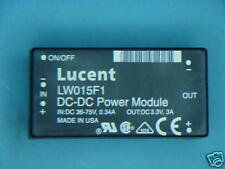 LW015F1 LUCENT DC/DC CONVERTER 15W POWER MODULE 36-75V IN / 3.3V OUT 108058710