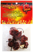 Carolina Reaper Chile Pods - Pure Dried Chile Peppers