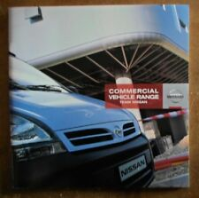 NISSAN NAVARA TERRANO VAN CABSTAR INTERSTAR KUBISTAR etc 2006 UK Mkt Brochure