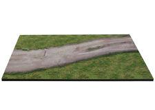 Diorama présentoir route en terre / plinth dirt road - 1/43ème - #43-1-E-001