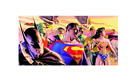 Alex Ross In the Light of Justice Oversized Canvas Signed by Alex Ross