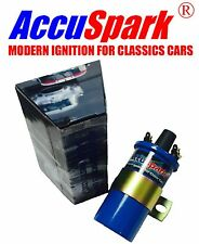 AccuSpark Blue 1.5 ohms 12v Ballast Sports Ignition Coil for MG Midget 1500cc