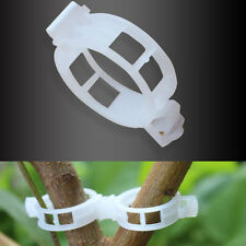 20Pc Useful Plant Vine Tomato Stem Clips Supports Connect to Trellis Twine Cages