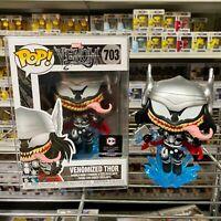 "Funko Pop Chalice Exclusive : Venomized Thor #703 Vinyl w/Protector ""Mint Box"""