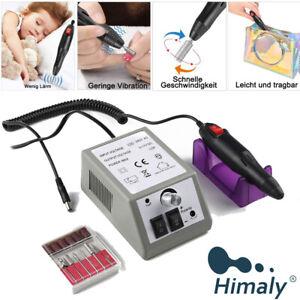Nagelfräser Grau Nagelfeile Fußpflegegerät 20000U/min Maniküre elektrische