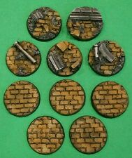 Warhammer 40K 40mm Resin Rubble Base Set (10)
