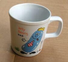 Ultra Rare Jelly Beans Dad Bean Plays Golf & Cigar Coffee Tea Cup Mug Japan VGC