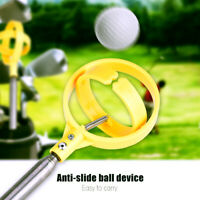 """ 8 Sections Telescopic Golf Ball Retriever Picker Pick Up Stainless Steel Shaft"