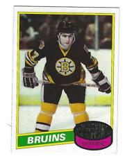 1980-81 Topps #140 Ray Bourque Boston Bruins Rookie Hockey Card NM