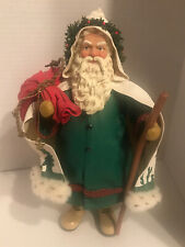 Clothtique Possible Dreams Out Of The Forest Santa Claus Figurine 1996 Christmas