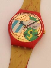 SWATCH COLLAGE DORE GR 116 GR116 anno 1993 OROLOGIO UHR OLD STOCK swatch20 UK