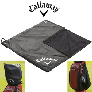 Callaway Golf Waterproof Rain Hood/Cover & Golf Towel Combo