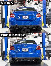 Fits 2015 2016 Subaru WRX / STI Tail Light Tint Overlays (Dark or Light Smoke)