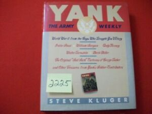 YANK-THE ARMY WEEKLY MAGAZINE. WAS WRITTEN BY, FOR, AND ABOUT GI's. SAD SACK,ETC