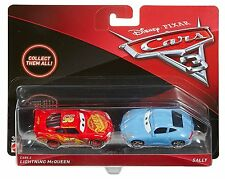 Cars 3 - Personaggi SAETTA e SALLY in Metallo by Mattel Disney Pixar 1:55