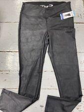 SEVEN 7 Women's Faux Leather Legging Black, Large, NWT