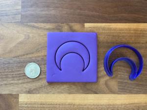 Moon Polymer Clay Cutter