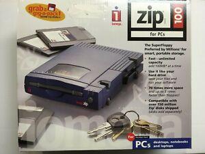 Iomega Zip 100 External Parallel Port Zip Drive