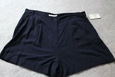 """Canyon River Blues """"Beyond Navy"""" Sz 18 Shorts 100% Rayon MSRP: $34 Buy Now: $14"""