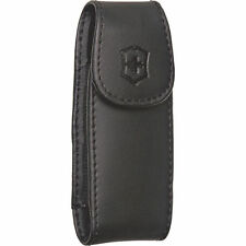 Swiss Army Large Leather Knife Clip Pouch, Victorinox Item # 33256, New In Box