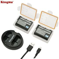 KingMa BM015-FW50 Battery And Dual USB Charger For Sony A6500 A6300 NEX-5C NEX-3