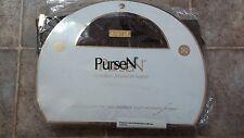 PurseN medium brown Purse Organizer expandable bag insert designer new!!