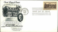 1956 USA US Cover Stamp Issue James Buchanany Wheatland Cancel Lancaster PA