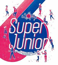 K-POP SUPER JUNIOR 6th Repackage Album [Sexy, Free & Single] SPY CD Sealed