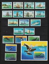 Turks & Caicos Islands - 1983 Ships, Whales - cat. $ 86.50