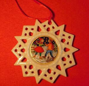 Hutschenreuther Weihnachtsstern – Porzellanstern - Schmuckstern - gebraucht