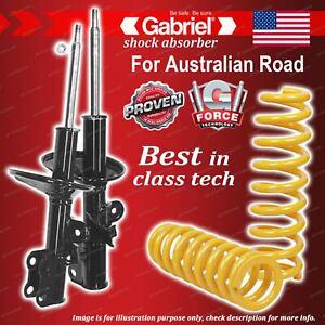 Front Gabriel Ultra Shocks + STD King Coil Springs for Toyota Tarago TCR10 RWD