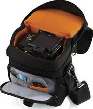 Lowepro Black Adventura 140 Shoulder Strap DSLR Point & Shoot Camera Bag Black