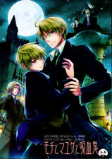 Hetalia Axis Powers BL GAG Doujinshi Comic Vampire USA x UK Alfred x Arthur Rice