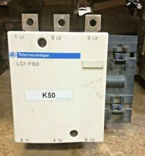 Schneider Electric LC1F150  Contactor 200A 600VAC 120v coil USED