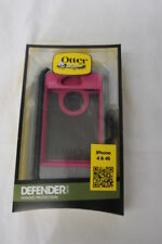 New OtterBox Defender Series Case & Clip for Apple iPhone 4/4S Pink & Grey