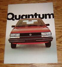 Original 1982 Volkswagen VW Quantum Sales Brochure 82