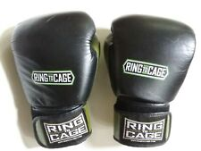 Green Ring To Cage Boxing Gloves 16 oz