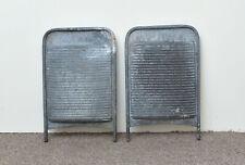 More details for 2x vintage old metal wash board washboard  - free postage